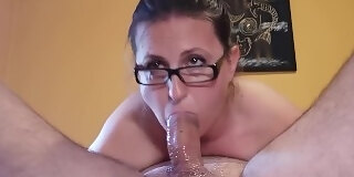 no mercy for my throat extreme deepthroat blowjob