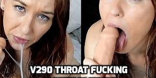 v290 throat fucking sloppy blowjob