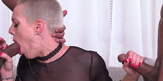 sidra sage experiences dp with bbcs in front of a cuckold