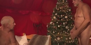 christmas fantasy fuck in hardcore old and girlswallowing cum