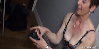 sextape french stepmom cougar rimming and hard fucking